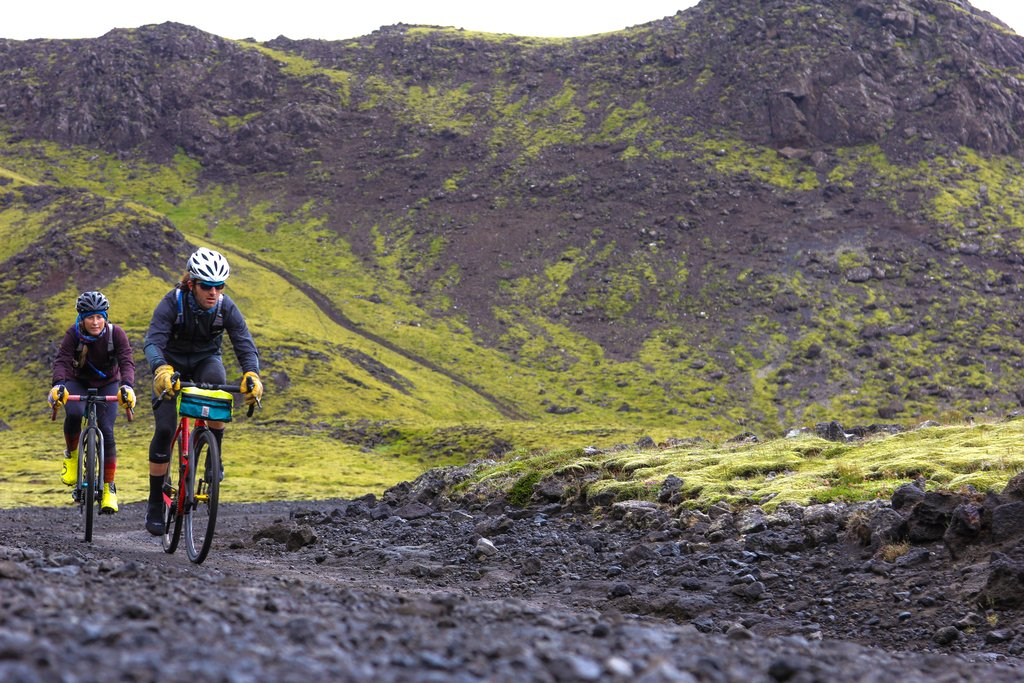 Bicycle in iceland