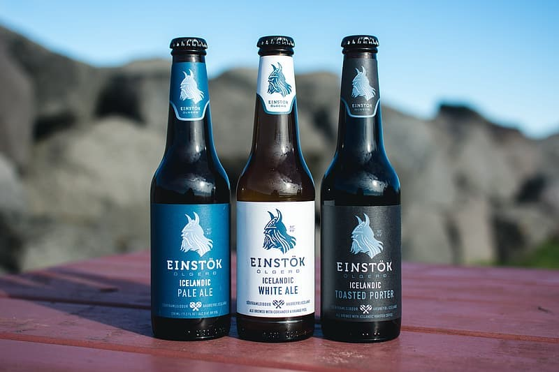 different kind of Einstok beers