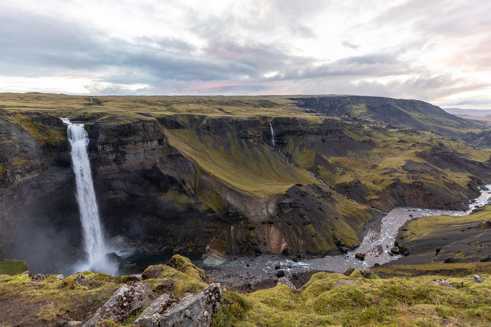 Haifoss in Iceland