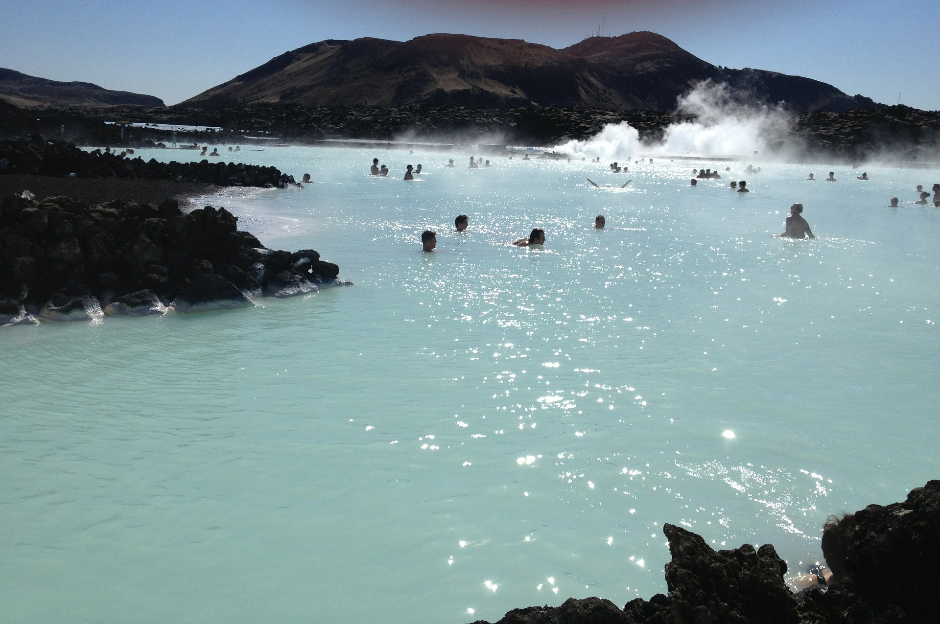 Blue Lagoon, the most famous spa in Iceland