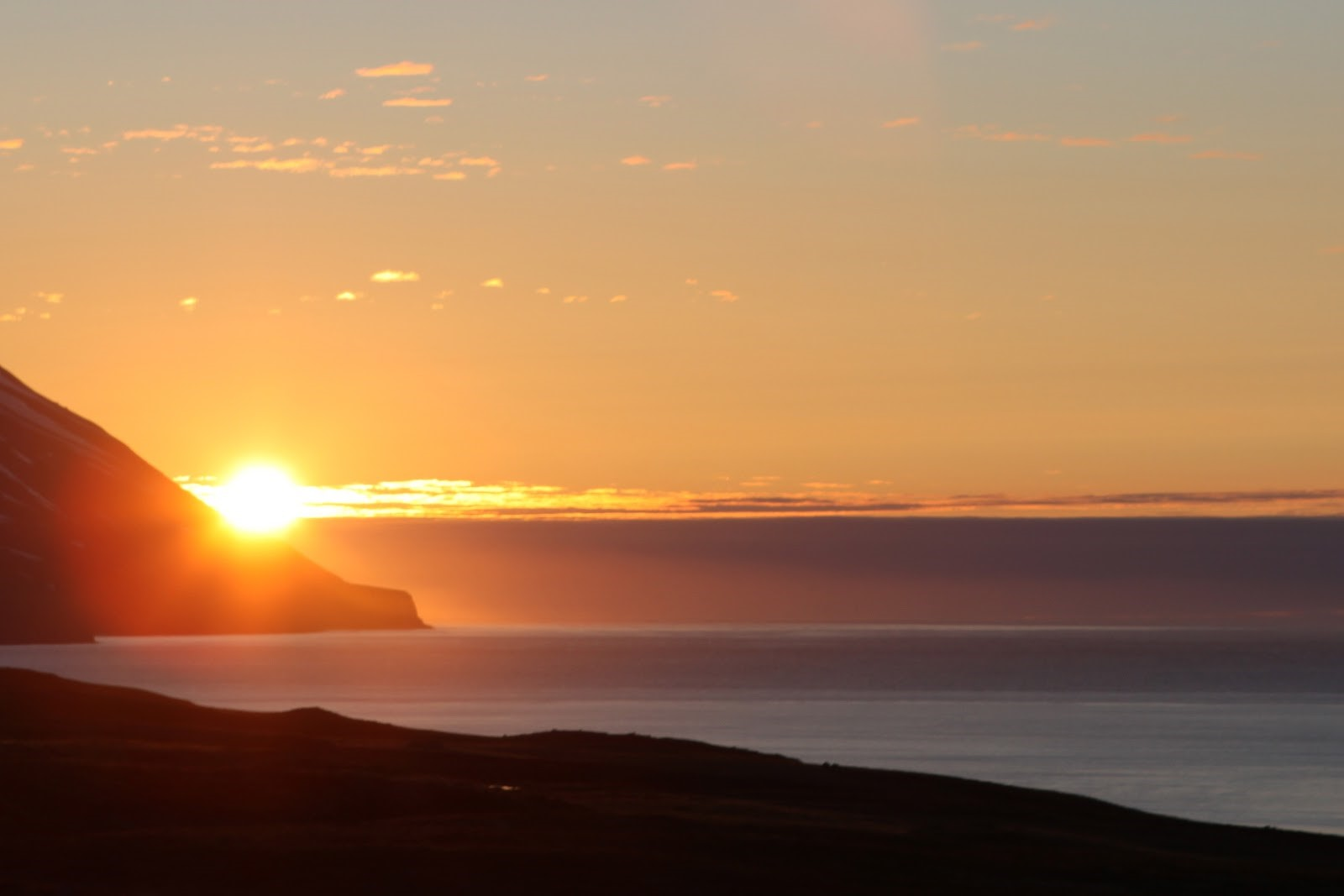 Midnight sun in Dalvik - Gudny Olafsdottir - Flickr - no changes were made