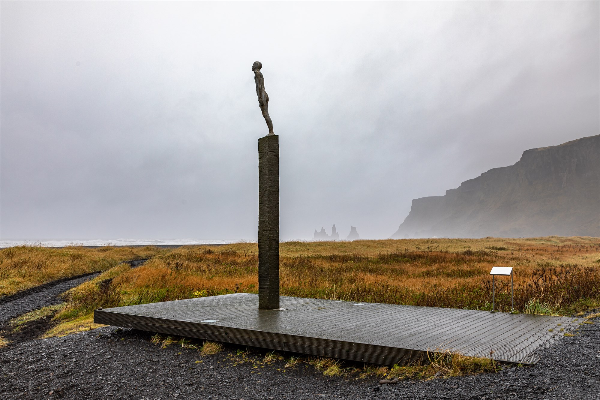 Voyages Friendship Statue in Iceland